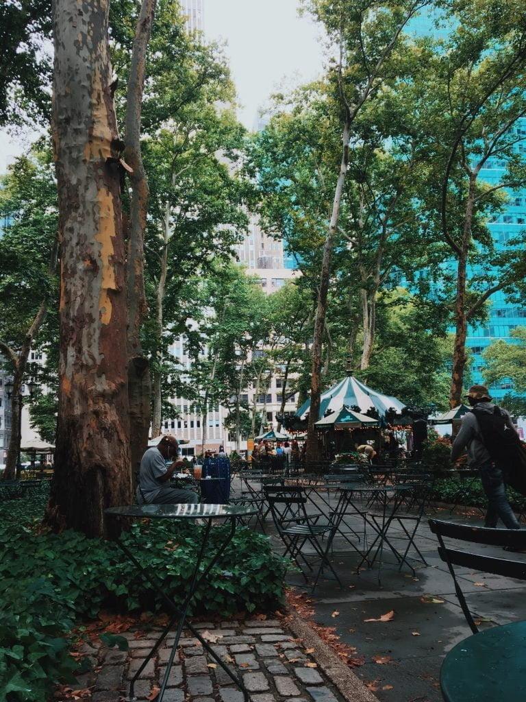 bryant park coffee